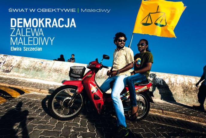 Demokracja zalewa Malediwy