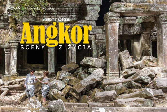 Angkor sceny z życia