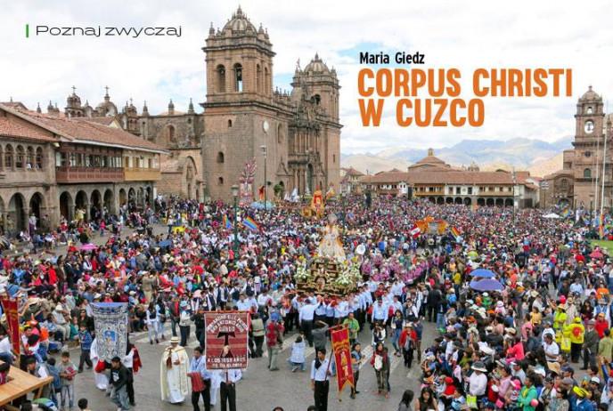Corpus Christi w Cuzco