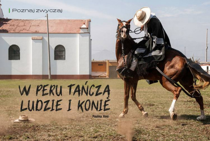 W Peru tańczą ludzie i konie