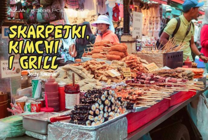 Skarpetki, kimchi i grill
