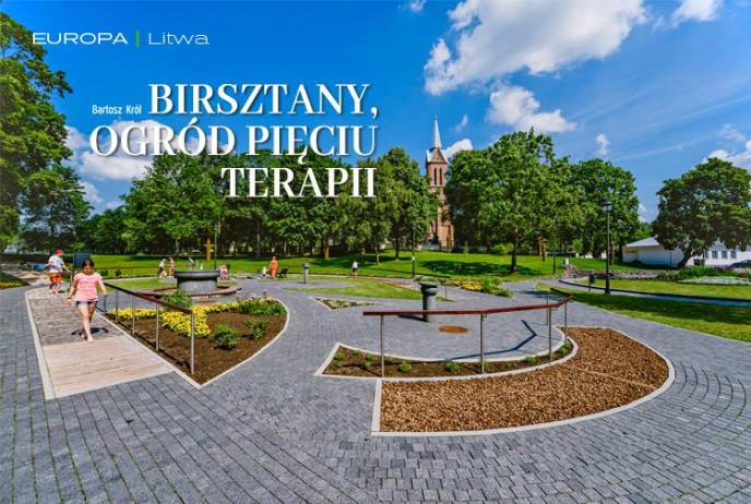 Birsztany, ogród pięciu terapii