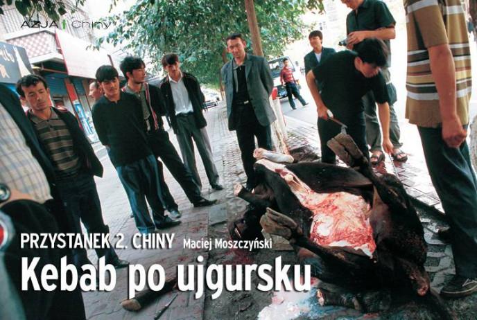 Kebab po ujgursku