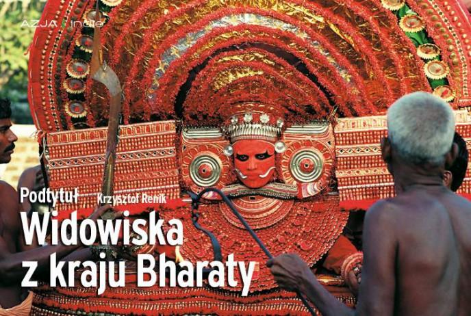 Widowiska z kraju Bharaty