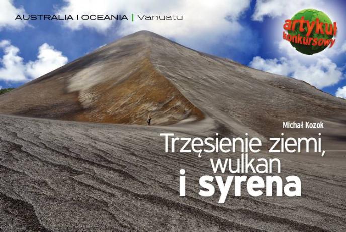 Trzęsienie ziemi, wulkan i syrena