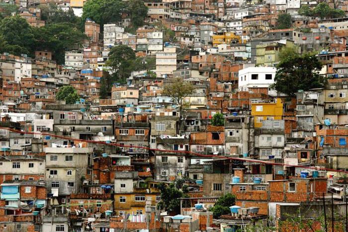 Slumsy w Rio - Brazylia, Rio de Janeiro