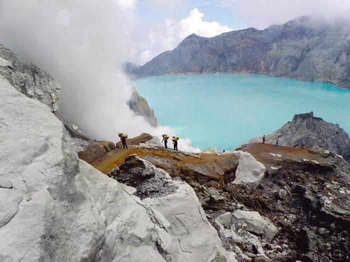Wulkan Kawah Ijen - Jawa
