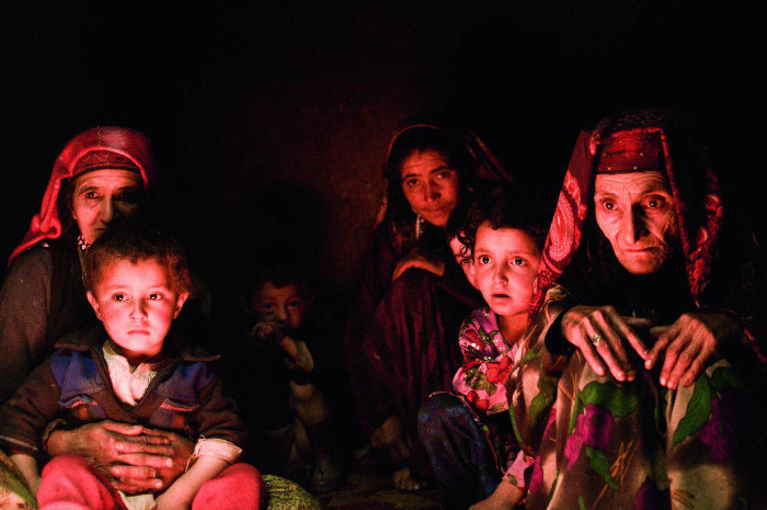 Kobiety i dzieci z doliny Wochan - Afganistan , Azja