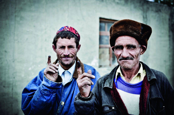 Mieszkańcy doliny Wochan - Afganistan, Azja
