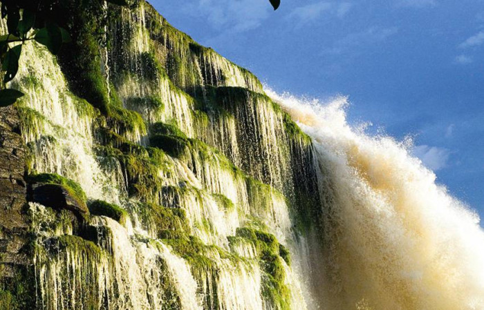 Wodospad Salto Sapo / Wenezuela
