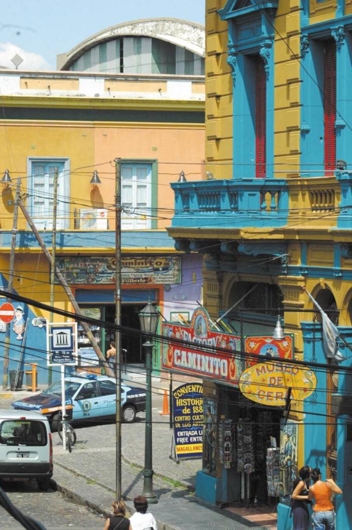 Cud w La Boca / Buenos Aires