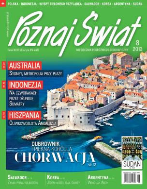 Okładka numeru 08.2013