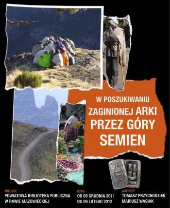 W poszukiwaniu zaginionej Arki przez Góry Semien. Etiopia. Afryka.